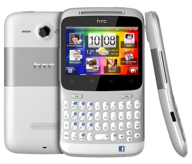 The HTC Cha Cha was launched in 2011, and featured a dedicated button to launch the Facebook app.