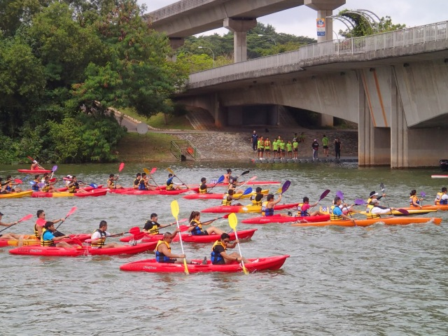 Fun race paddlers. Can you spot me?